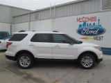 2014 White Platinum Ford Explorer XLT #93482613