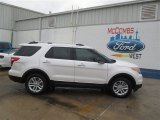 2014 White Platinum Ford Explorer XLT #93482611