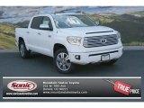 2014 Super White Toyota Tundra Platinum Crewmax 4x4 #93482525