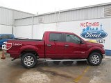 2014 Ruby Red Ford F150 XLT SuperCrew 4x4 #93482609
