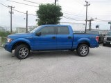 2014 Blue Flame Ford F150 STX SuperCrew 4x4 #93482604