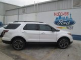 2014 White Platinum Ford Explorer Sport 4WD #93482601