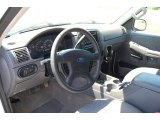2003 Ford Explorer XLS 4x4 Graphite Grey Interior