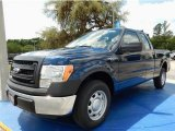 2014 Blue Jeans Ford F150 XL SuperCab #93482670