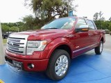 2014 Ruby Red Ford F150 Platinum SuperCrew 4x4 #93482668