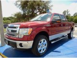 2014 Ruby Red Ford F150 XLT SuperCrew 4x4 #93482667