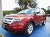 2014 Ruby Red Ford Explorer XLT #93482662