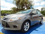 2014 Sterling Gray Ford Focus SE Sedan #93482658
