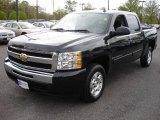 2009 Black Chevrolet Silverado 1500 LT Crew Cab #9320084