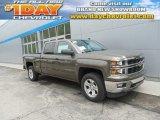 2014 Brownstone Metallic Chevrolet Silverado 1500 LT Crew Cab 4x4 #93482569