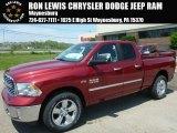 2014 Deep Cherry Red Crystal Pearl Ram 1500 Big Horn Quad Cab 4x4 #93524166