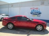 2014 Ruby Red Ford Mustang V6 Coupe #93523907