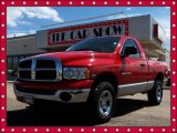 2005 Flame Red Dodge Ram 1500 SLT Regular Cab 4x4 #9333749