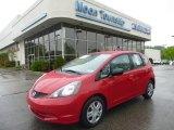 2011 Milano Red Honda Fit  #93524136