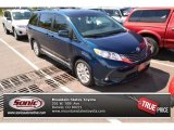 2011 South Pacific Blue Pearl Toyota Sienna XLE AWD #93523819
