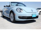 2013 Denim Blue Volkswagen Beetle TDI Convertible #93524358