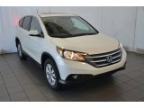 2014 White Diamond Pearl Honda CR-V EX #93523878
