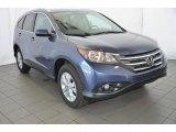 2014 Twilight Blue Metallic Honda CR-V EX-L #93523874