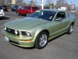 2005 Legend Lime Metallic Ford Mustang GT Premium Coupe #9320247