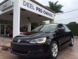 2014 Deep Black Pearl Metallic Volkswagen Jetta Hybrid SEL #93565683
