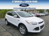 2014 Oxford White Ford Escape SE 1.6L EcoBoost 4WD #93565819