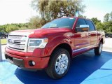 2014 Ruby Red Ford F150 Platinum SuperCrew 4x4 #93565796