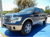 2014 Blue Jeans Ford F150 Lariat SuperCrew 4x4 #93565795