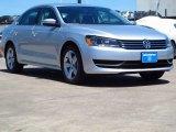 2014 Reflex Silver Metallic Volkswagen Passat 1.8T SE #93566148