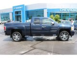 2009 Imperial Blue Metallic Chevrolet Silverado 1500 LT Extended Cab #93565712