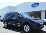 2014 Tuxedo Black Ford Explorer XLT #93565835