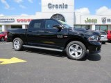2014 Black Ram 1500 Sport Crew Cab 4x4 #93565915