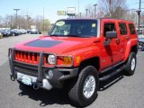 2009 Victory Red Hummer H3  #9320049