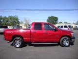 Inferno Red Crystal Pearl Dodge Ram 1500 in 2008