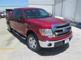 2014 Ruby Red Ford F150 XLT SuperCrew #93605204