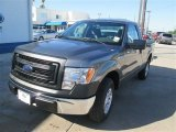 2014 Sterling Grey Ford F150 XL Regular Cab #93605198