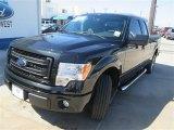 2014 Tuxedo Black Ford F150 STX SuperCab #93605197