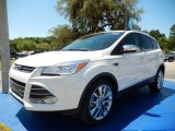 2014 White Platinum Ford Escape SE 1.6L EcoBoost #93605232