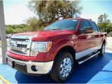 2014 Ruby Red Ford F150 XLT SuperCrew #93605230