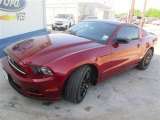 2014 Ruby Red Ford Mustang V6 Coupe #93628482