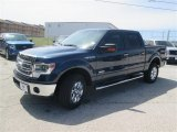 2014 Blue Jeans Ford F150 XLT SuperCrew 4x4 #93628478