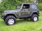 2004 Jeep Wrangler Moss Green Pearlcoat