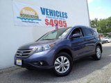 2012 Twilight Blue Metallic Honda CR-V EX-L 4WD #93632073