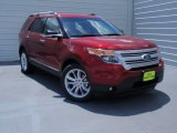 2014 Ruby Red Ford Explorer XLT #93631897