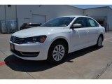 2014 Candy White Volkswagen Passat 1.8T Wolfsburg Edition #93631942