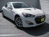 2013 White Satin Pearl Hyundai Genesis Coupe 3.8 Grand Touring #93631890
