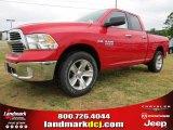 2014 Flame Red Ram 1500 SLT Quad Cab #93631809