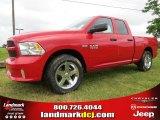 2014 Flame Red Ram 1500 Express Quad Cab #93631806