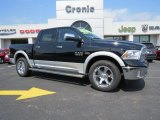 2014 Black Ram 1500 Laramie Crew Cab 4x4 #93667000