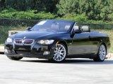 2009 Jet Black BMW 3 Series 328i Convertible #93666997
