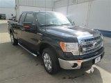 2014 Tuxedo Black Ford F150 XLT SuperCab #93666835
